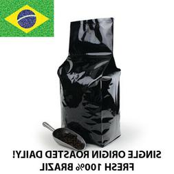 2, 5, 10 lb Brazil Coffee Roasted Fresh Daily in the USA Who
