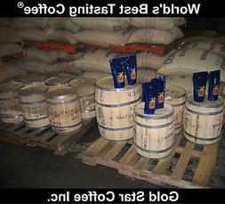 10 lbs - 100% Jamaica Blue Mountain Coffee Green Beans - For