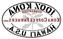 100% Hawaiian / Kona Coffee Whole Beans Medium Roasted Daily