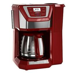 12 Cup Coffee Maker With Grinder Automatic Whole Bean Machin