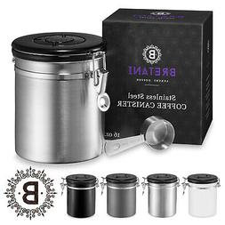 16oz Stainless Steel Coffee Canister Scoop Set - Storing Gro