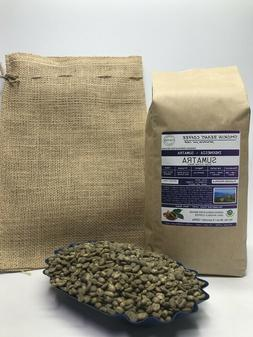 1lb/30lb - Sumatra – Specialty Grade - Premium Unroasted G