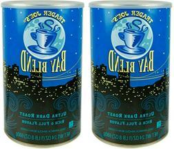 2 Packs Trader Joe's Bay Blend Ultra Dark Roast Whole Bean C