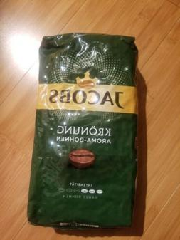 3 x Vacuum Pack 500 g Jacobs Kronung Coffee whole beans
