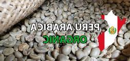5 Lbs of Organic High Altitude Peru All Natural Green UnRoas