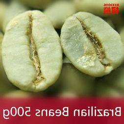 500g Brazil Green Coffee Beans 100% Original High Quality Gr