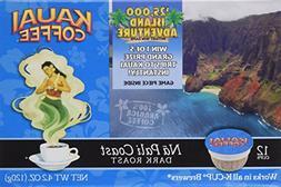 Kauai Coffee, K-Cup Single Serve, 12 Count, 4.2oz Box