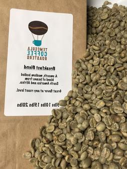 BREAKFAST BLEND COFFEE. GREEN UNROASTED COFFEE BEANS. FROM $