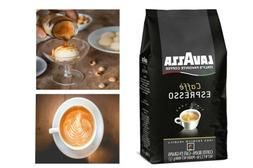 Lavazza Caffe Espresso Whole Bean Coffee Blend, Medium Roast
