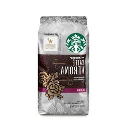 STARBUCKS COFFEE CAFFE VERONA Ground Dark Roast Arabica Coff