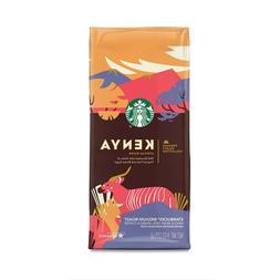 STARBUCKS COFFEE KENYA AFRICAN Blend, Whole Bean, Tropical F