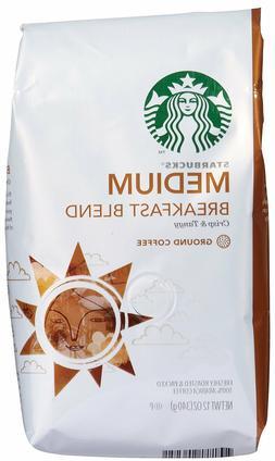 COFFEE STARBUCKS MEDIUM ROAST HOUSE BLEND GROUND BEAN COFFEE