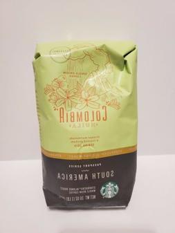 Starbucks Colombia Huila South America Blonde Roast 1 LB Who