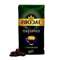 JACOBS ESPRESSO WHOLE BEAN COFFEE - 1000G 1KG/35oz - VACUUM