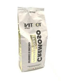 TOSTINI CAFFE  ESPRESSO WHOLE BEAN  CREMOSO BLEND COFFEE 1kg