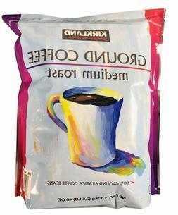 KIRKLAND SIGNATURE GROUND COFFEE MEDIUM ROAST 40 Oz