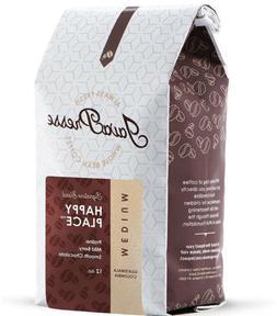 JavaPresse Happy Place Medium Roast Natural Coffee Beans  Wh