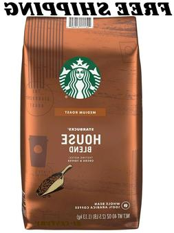 Starbucks House Blend Whole Bean Coffee