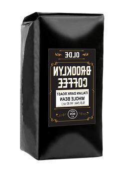 ITALIAN Dark Roast Whole bean – 5 LB Extra Strong Coffee -