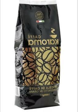 2/1Kg Italian Espresso Beans Coffee. Top Arabica Smooth & Da