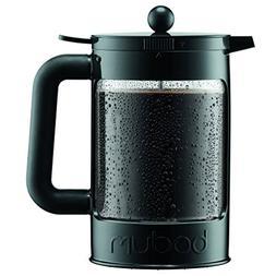Bodum Bean Cold Brew Coffee Maker, Press, Plastic, 1.5 Liter