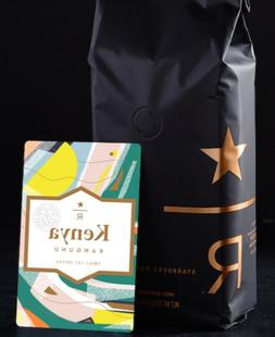 Kenya Kangunu Starbucks Reserve Coffee Beans 8.8 oz BB 9/201
