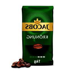 JACOBS KRONUNG WHOLE BEAN COFFEE - 1000G 1KG/35oz - VACUUM P