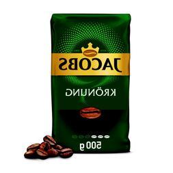 JACOBS KRONUNG WHOLE BEAN COFFEE - 500G / 17,5oz - VACUUM PA