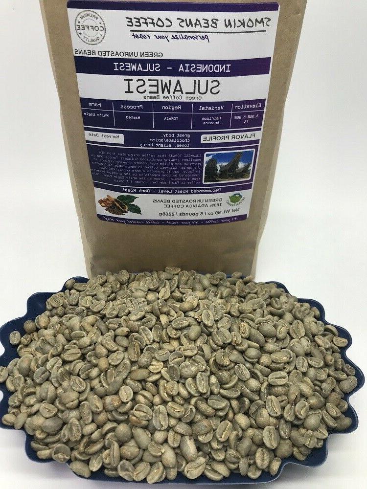 1lb/30lb - Specialty Grade Premium Unroasted Green