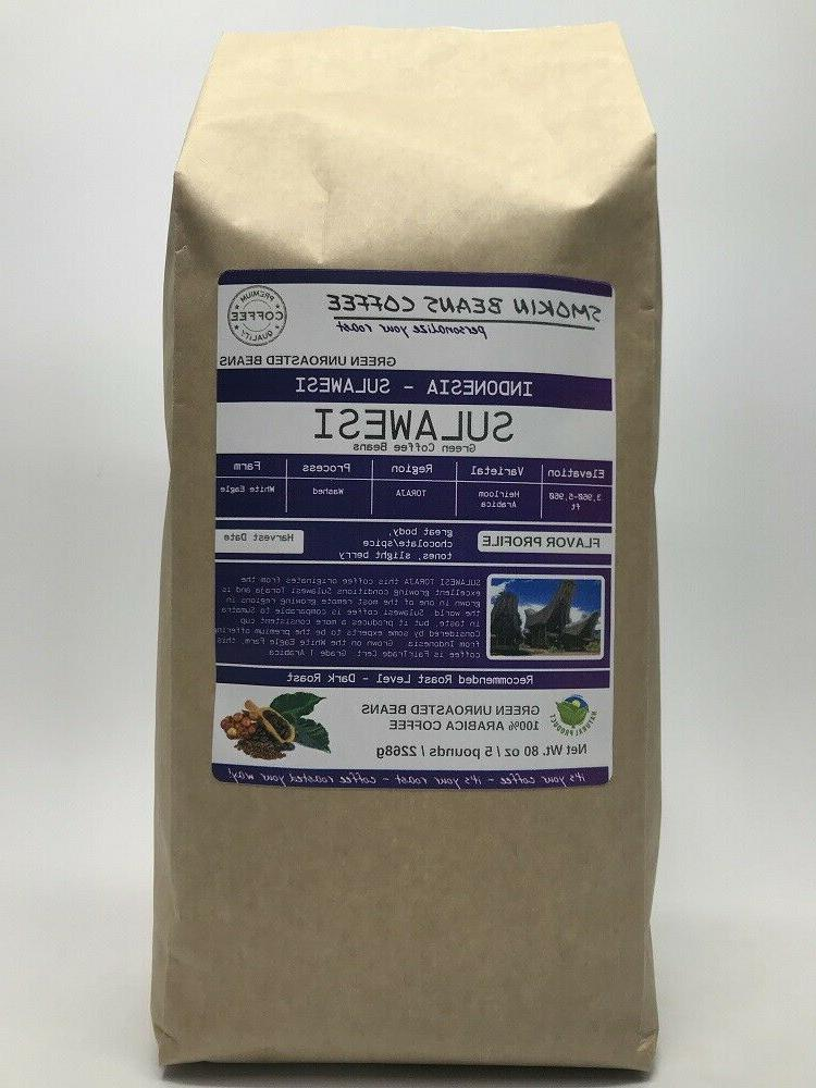 1lb/30lb Specialty - Unroasted Green