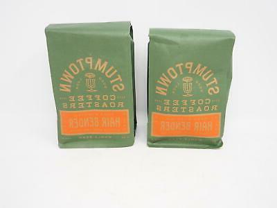 2 bags stumptown coffee roasters hair bender