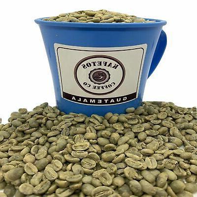 10 lbs guatemala green coffee beans raw