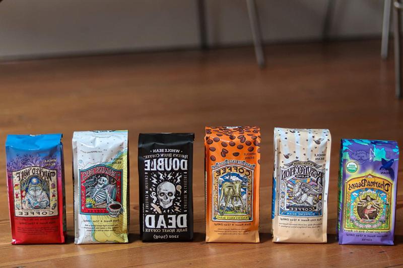 Raven's Coffee Organic Ground Dark –