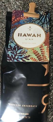 Starbucks Reserve Whole Bean Coffee - Hawaii Ka'u Small-Lo