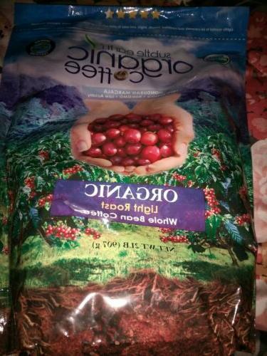 subtle earth organic gourmet coffee