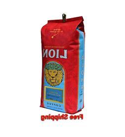 Lion Macadamia Nut Coffee - Whole Bean 24 oz
