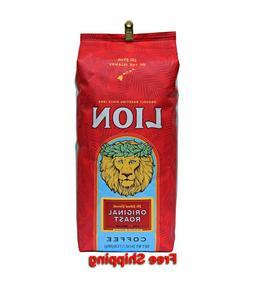 Lion Original Roast Coffee - Whole Bean 24 oz