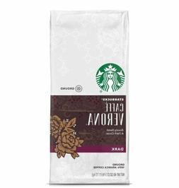 LOT OF 3 Starbucks Caffe Verona Dark Roast Ground Coffee, 40