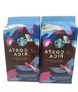 Starbucks Medium Roast Whole Bean Coffee, Costa Rica, 9oz, 6
