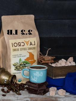 LA CROI  Organic Colombian Coffee Beans Fresh Medium Roast,