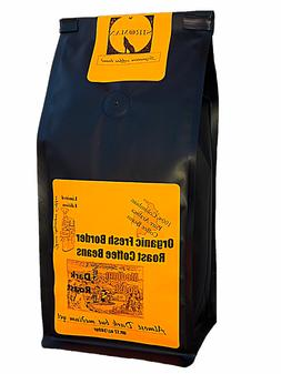 Organic Colombian Fresh Border Roast Coffee Beans, Ground 12