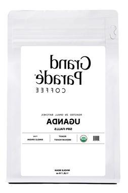 Organic Ugandan Medium Roast Coffee, Whole Beans or Ground |