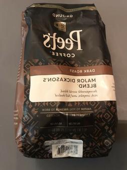 Peet's Coffee Peetnik Pack, Major Dickason's Blend, Ground,