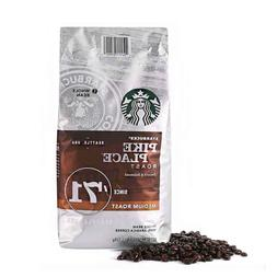 Starbucks Pike Place Medium Roast Whole Bean Coffee 40Oz Exp