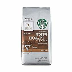 Starbucks Pike Place Roasted Whole Beans 12 Oz. Pack of 3