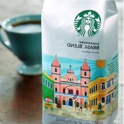 RARE Starbucks Brazil / Brasil Blend Whole Bean Coffee 8.8oz