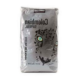 Kirkland Colombian Supremo Arabica Whole Bean Coffee 1.36kg