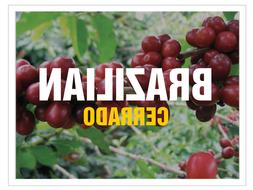 Up To 100 lbs Brazil Cerrado Arabica - natural 17/18 screen